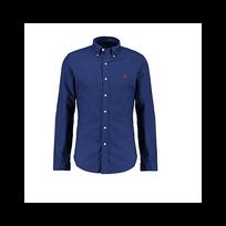 Ralph Lauren - Chemise Homme Bleu Navy Slim-fit Taille L