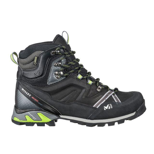 af581f3aa00 Millet - Chaussures Montantes De Randonnée Gore-tex High Route Gtx  Charcoal acid Green Homme - pas cher Achat   Vente Chaussures moyenne rando  - ...