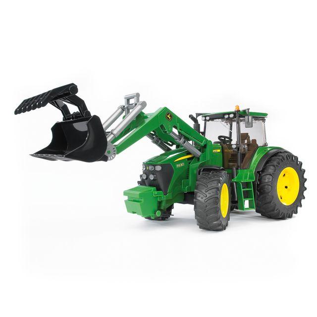 BRUDER Tracteur avec fourche John Deere 7930 - 3051