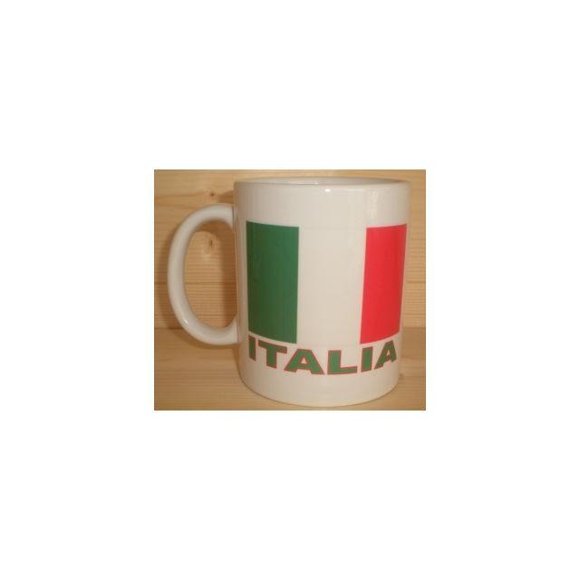 autre mug blanc drapeau italien italia italie pas cher achat vente mug rueducommerce. Black Bedroom Furniture Sets. Home Design Ideas