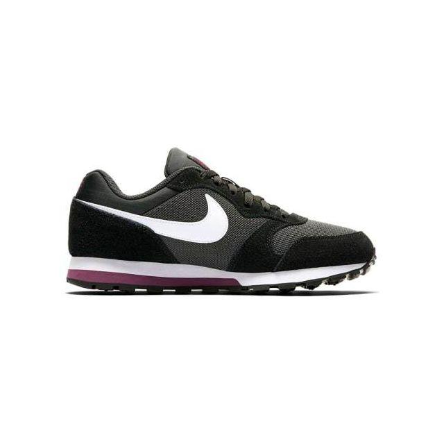 sports shoes 749b9 86c24 Nike - Chaussures Nike Md Runner 2 Td noir blanc mauve femme