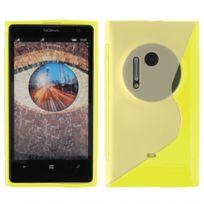 Kabiloo - Coque souple en gel S-line jaune Lumia 1020 Nokia