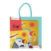 Avenue Mandarine - Kit d'Initiation tableau Point de Croix Enfant - Oiseau