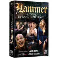 Elephant Films - Hammer : Le coffret de tous les cauchemars : Comtesse Dracula + Les sévices de Dracula + La fille de Jack l'éventreur + Le cirque des vampires