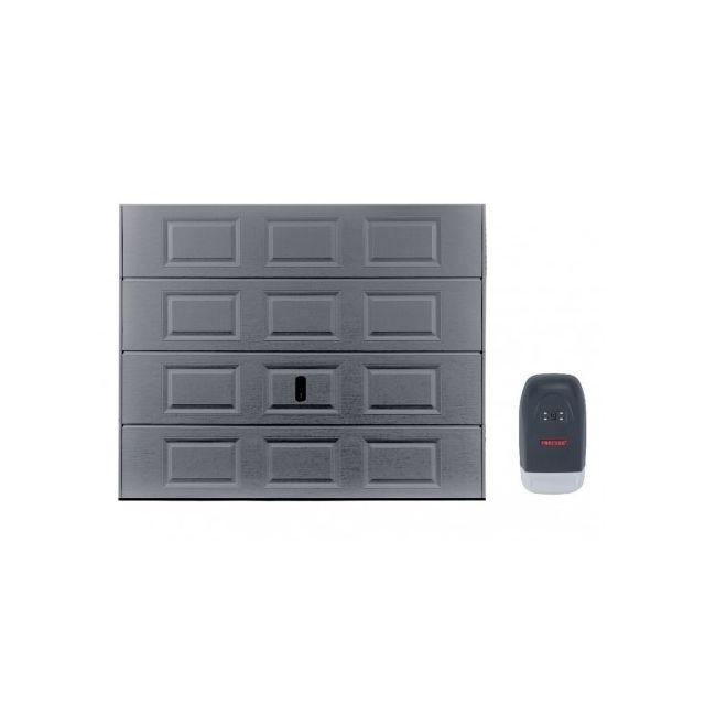 Vente Unique Pack Porte De Garage Sectionnelle Speos