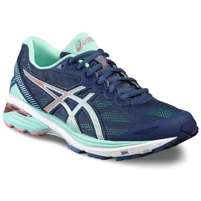 Asics Gt 1000 5 Chaussures de running Femme bleu