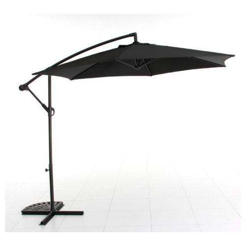 CARREFOUR   Parasol excentré   Ø 300 cm   Acier et polyester