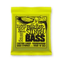 Ernie Ball - Cordes Basse Slinky Regular Nickel 50-105