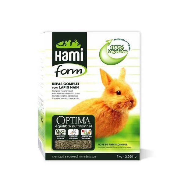 Hamiform Hami Form Repas Complet Optima Lapin Nain