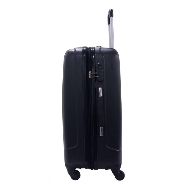Alistair - Valise Taille Moyenne 65cm - Airo - Abs ultra légère et résistante - 4 roues - Marque française - 8 couleurs disponibles