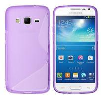 Bluetrade - Coque Tpu type S pour Samsung G386 Core - violet