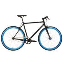 KS CYCLING - Vélo fitness fixie 28'' Pegado noir TC 56 cm