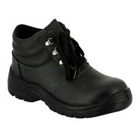 Label Blouse - Chaussure de travail antidérapante Chaussure de sécurité Chaussure de sécurité Haute noire classique pi
