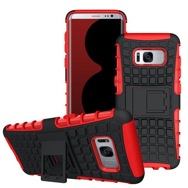 Lapinette - Coque Anti Choc Pour Samsung Galaxy S8 + Film - Rouge ... ddf0da89e603