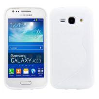 Bluetrade - Coque Tpu type S pour Samsung Ace 3 S7270 -blanc