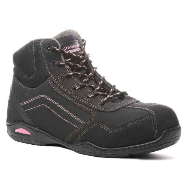 chaussure de securite montantes femme pas cher