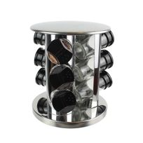 Totally addict - Carrousel à épices - 9 Pots - Support rotatif