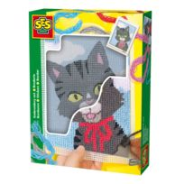 Ses Creative - Couture Set de broderie : Chat