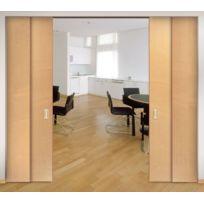 Hawa - Ensemble Coulissant Garniture Telescopic 80/2 - 80/3- 40/4 - Réf.:téles 40/4 - Nb de vantaux:4 - Larg. vantail mm:500 à 800