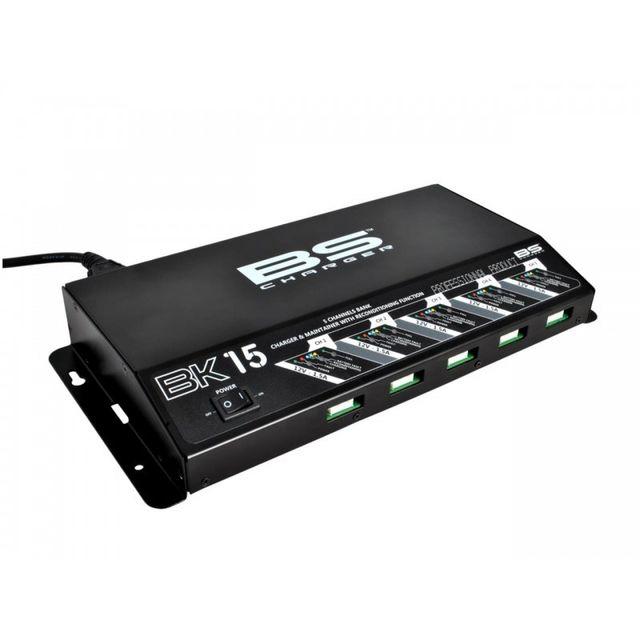 Wacox Borne de Charge de Batterie Bs Batterie Bk15 - 5 Voies 100% Automatiqu