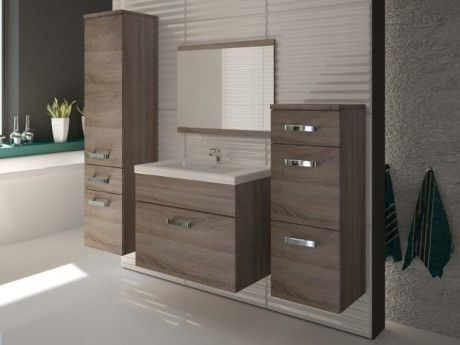 Meuble de salle de bain en bois exotique pas cher awesome - Meuble de salle de bain en bois exotique pas cher ...