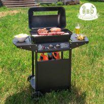 Barbecue à Gaz avec Grill - Pour des grillades faciles et réussies avec 2 brûleurs indépendants
