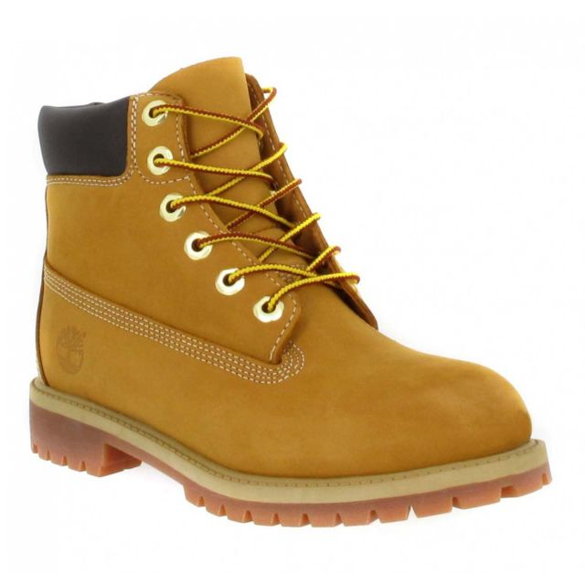 Timberland - 6in Premium 12909 velours Femme-35,5-Ocre - pas cher ...