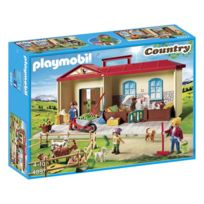 playmobil commissariat de police transportable 5299 pas cher achat vente playmobil. Black Bedroom Furniture Sets. Home Design Ideas