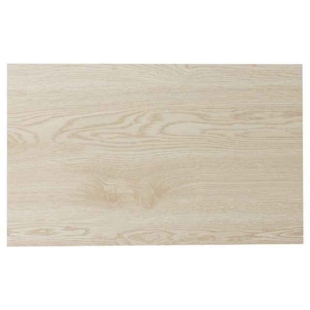 TABLE PASSION SET TABLE PVC 45 X 30 CM BOIS CLAIR LOT DE 2