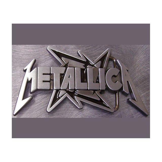 10e5d3c80d63 Universel - Boucle de ceinture metallica logo groupe hard rock homme ...