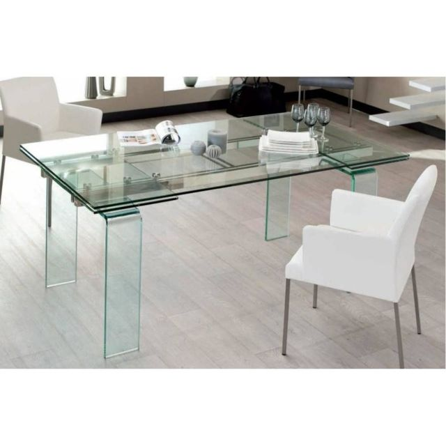 Inside 75 Table design extensible Vitro 160cm