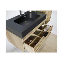 Meuble salle bain bois exotique catalogue 2019 rueducommerce carrefour - Meuble salle de bain rue du commerce ...
