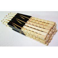 Sherwood - Lot de 12 paires de Baguettes 7B anti-dérapante