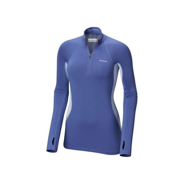 Columbia T shirt Midweight Stretch Half Zip manche longue
