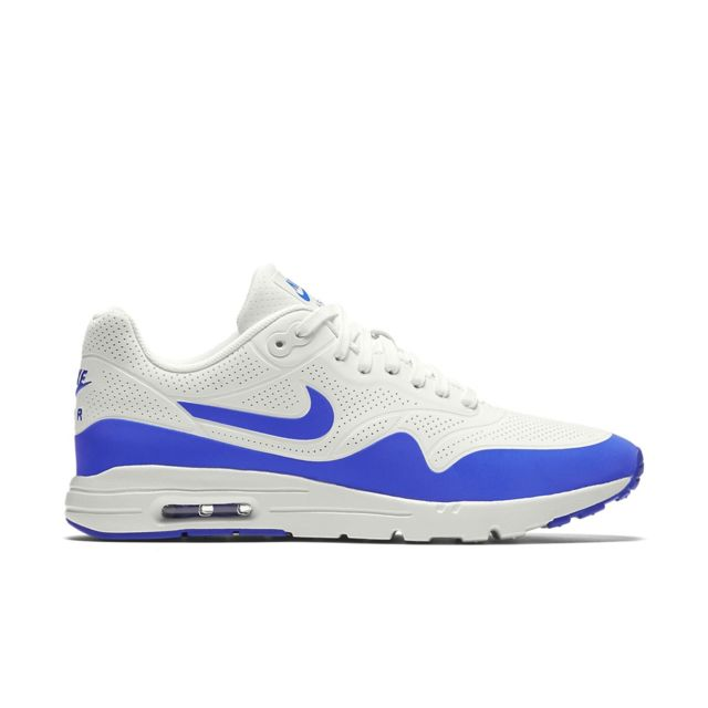 4e6f247a215ee Nike - Basket Air Max 1 Ultra Moire - 704995-100 - pas cher Achat   Vente  Baskets homme - RueDuCommerce