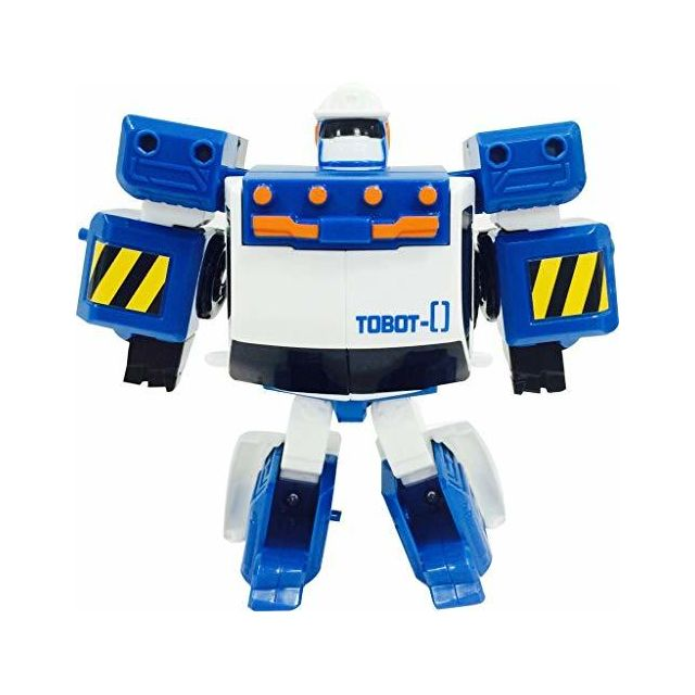Tobot Youngtoys Mini Zero Car Transforming Robot Collectable Car to Robot Animation Character
