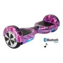 Authentic - Hoverboard Galaxy Pink Enceintes Bluetooth 6,5P