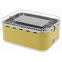 Barbecook - Barbecue de table au charbon Carlo - Inox - 38.5x28.5 cm