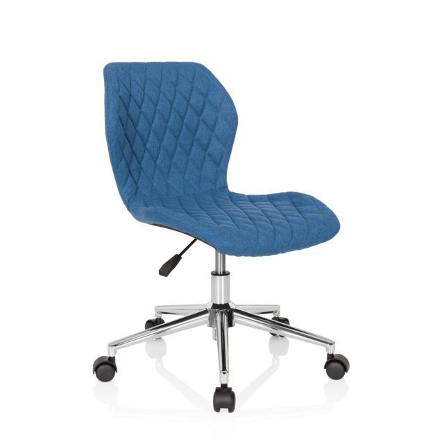 Chaise de bureau chaise d'enfant pour enfants Joy Ii tissu bleu