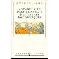 Adyar - vocabulaire pali-francais termes bouddhiq