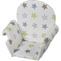 Geuther - Coussin de chaise Pvc avec rabat Etoile