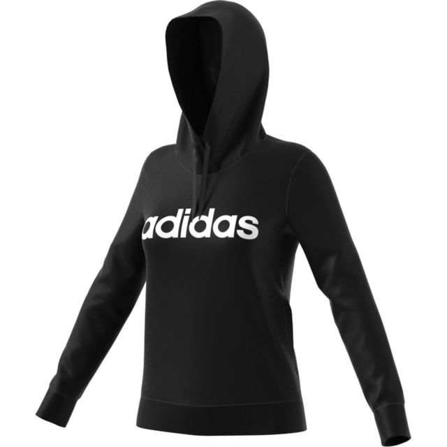 Adidas Sweat à capuche femme Essentials Linear over pas