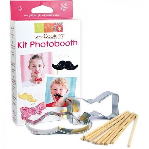 Scrapcooking Kit Photobooth comestible