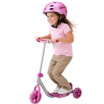Razor - Patinette 3 roues - Lil'Kick scooter : Rose