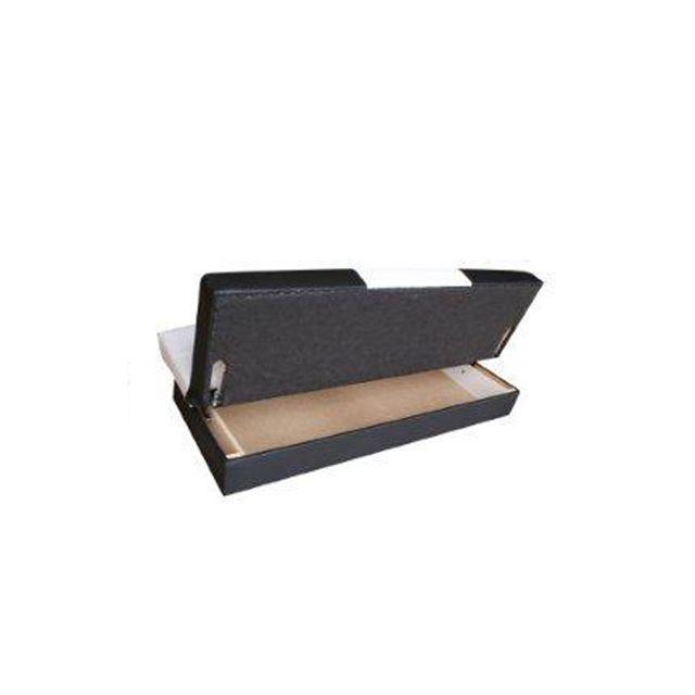 Meublesline - Banquette 3 places convertible en lit avec coffre