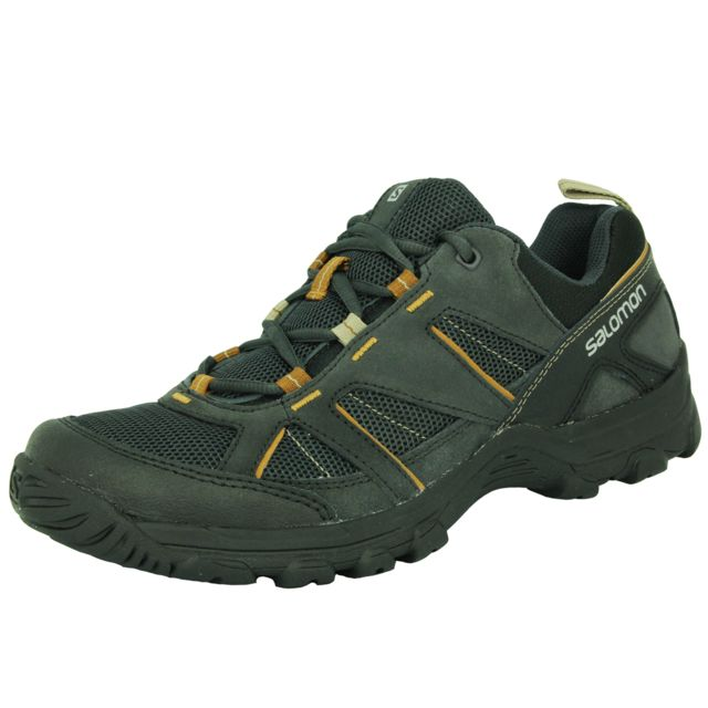best website d42f3 95882 Salomon - Cruise Ii Chaussures de Course Trail Running Homme Noir - pas cher  Achat   Vente Chaussures trail - RueDuCommerce