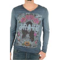Biaggio - Tee Shirt Sérigraphié Lepalil - Jeans