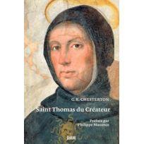 Dominique Martin Morin - Saint Thomas du créateur
