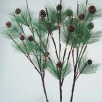Kaemingk - Branche nature de Noël lumineuse Naturis