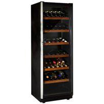 Norcool - Cave à vin de vieillissement - 1 temp 100 bouteilles - Noir Aci-nor107 - Pose libre